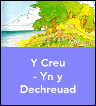 Y Creu – Yn y Dechreuad